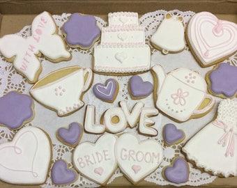 Wedding Cookies Gift Box