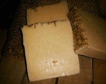 Goats Milk, Honey, and Oatmeal Soap