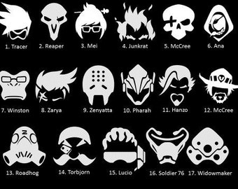 Overwatch Decal Etsy
