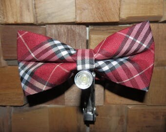 The plaid bow tie