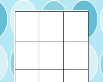 BabyShower Bingo Cards