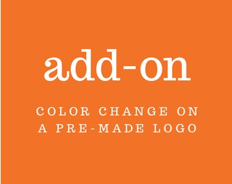 Add-On: Color Change on a Pre-Made Logo