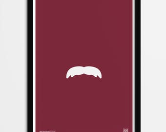 Anchorman inspired minimalist poster