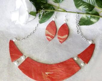 Jewelry Set. 2 Piece Set: Necklace & Earrings