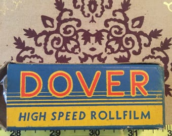 Vintage WW2 Dover High Speed Rollfilm