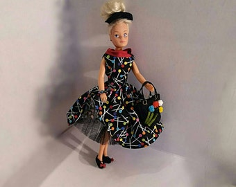 Sindy clothes, Includes doll, Vintage Sindy doll, Vintage fashion doll, Blonde Sindy Doll, Doll clothes, Gift for her, Vintage Sindy