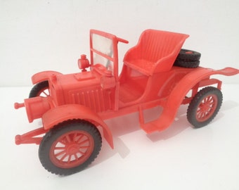 Vintage 1970s Veteran Plastic Car by Tudor Rose Plastic Products