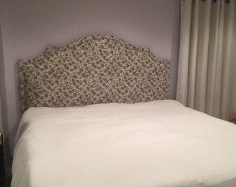 Custom Fabric Headboard