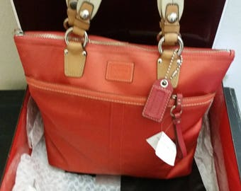 Coach Hampton Tote Bag