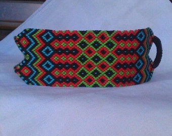 Handwoven bracelet, Braided bracelet, Knotted bracelet, String bracelet, Wrist band, Boho style, Friendship bracelet, Summer bracelet