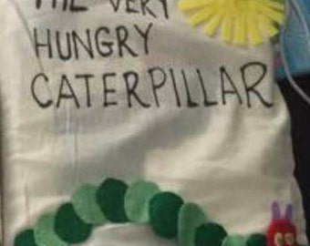 The Very Hungry Caterpillar Story Sack
