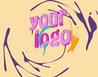 End screen video intro or outro, Color spots logo