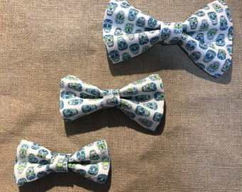 Bow ties for father and son