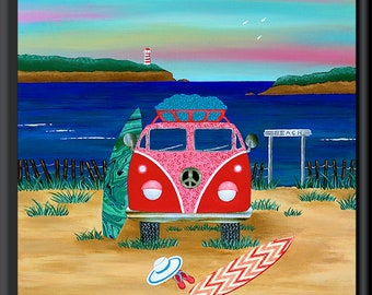 Kombie Road Trip Art Downloadable Print