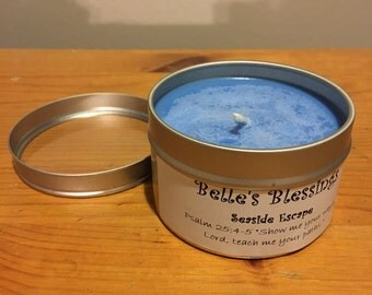 Homemade Soy Candle - Tins - 6oz
