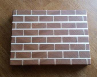 Brick Style Cherry End Grain Cutting Board