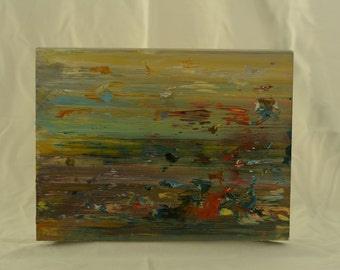 Abstract Painting - Cool Dash - By Peter Gordon