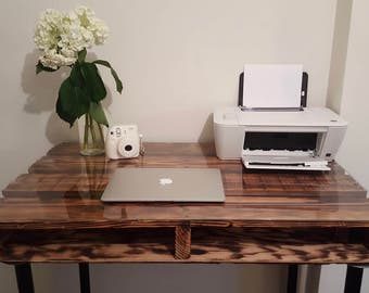 Rustic Pallet Wood Desk