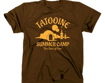Visit Tatooine summer camp two Suns of fun T-Shirt