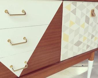 Retro mid century style sideboard