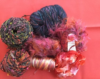 One Lot-Mixed Yarn for Scarf