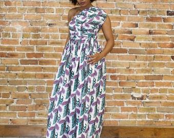Ankara Infinity  Maxi Dress