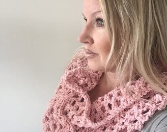 The Modern Crochet Cowl