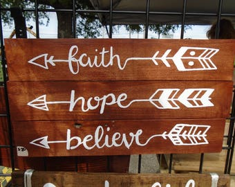 Faith Hope Believe