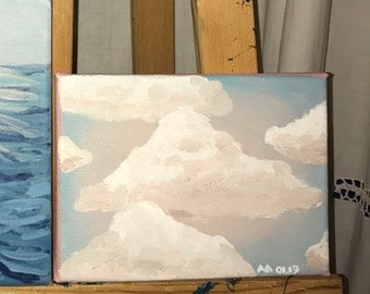 Small Cloud painting
