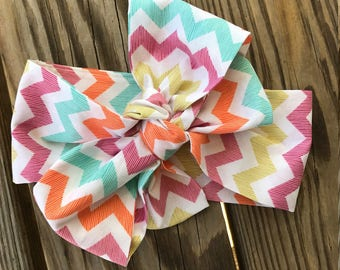 Multi Stripe Chevron