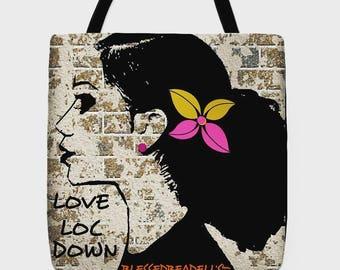 Love Loc Down Shopping Tote