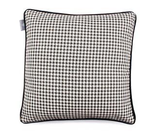 Classic Check Black Pillow Pillow Designer Pillow Chanel Pillow High Quality Cushion