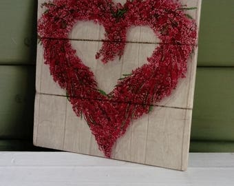 Handmade wooden wall plaques