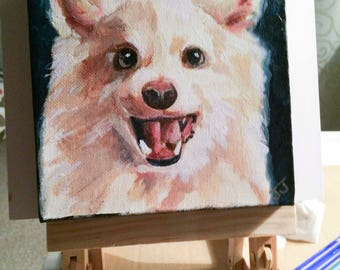 A pet painting customized by your photo!