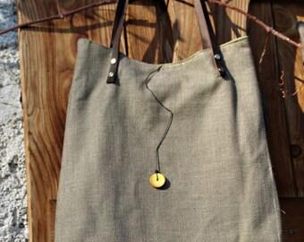 simply bag yellow detail