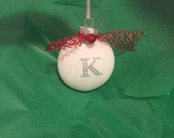 4 Pack Personalized Ornaments