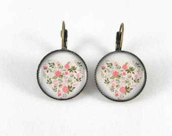 tree of life sleepers retro motif earrings