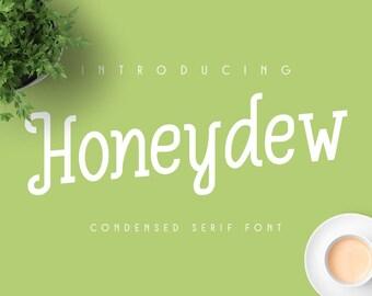 Honeydew Font