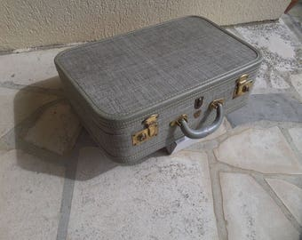 SALE - Vintage Suitcase by  McBrine Baggage