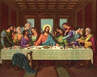 The Last Supper Cross Stitch Pattern***LOOK***