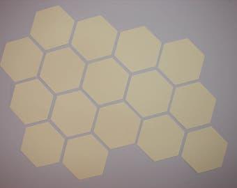 Hexagon templates 1 inch