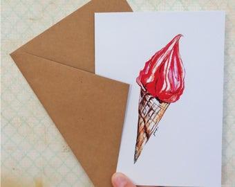 Ice Cream Card