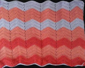 Pink purple ripple 3 piece
