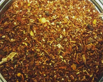 Tea, Caramel Chilli Rooibos, loose leaf tea, caffeine free, Perfect gift for tea lover/foodie