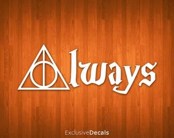 HARRY POTTER DECAL 2, macbook decal harry potter, yeti decal harry potter, car decal harry potter, laptop decal harry potter, stickers harry