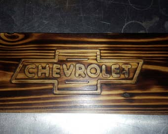 Burned & engraved custom Wood signs