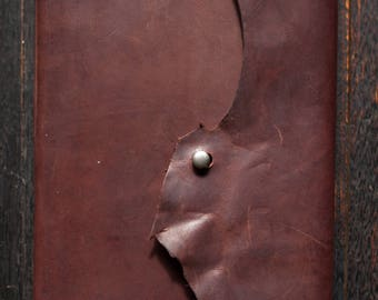 A5 Leather Journal - Kangaroo Leather (Chocolate Brown)