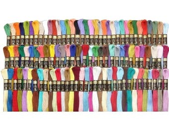 50 Anchor Cross Stitch Cotton Embriodery Thread Floss/Skeins