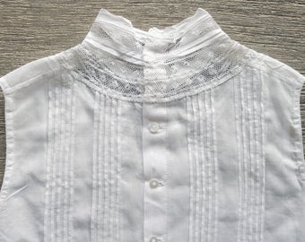 Vintage girls blouse from France