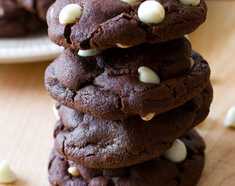 B&W Chocolate Chip Cookies, reduced-sugar